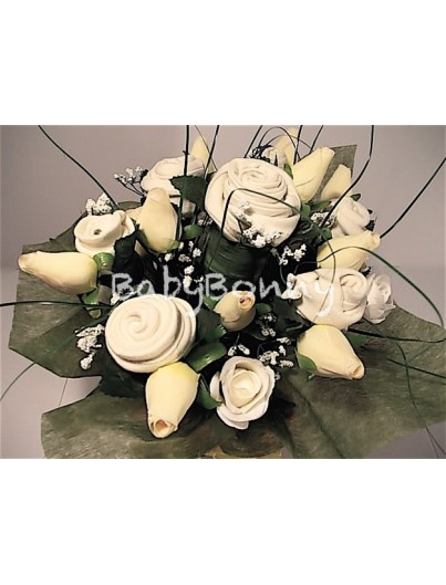 FLOWER BOUQUET OF BABY CLOTHES